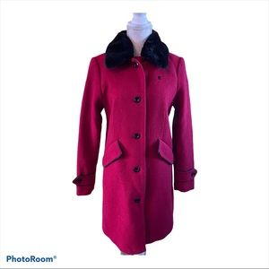 G-Star Raw Red Woman's Coat XS Classic Long Formal